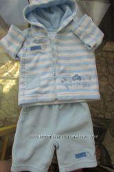 Тёпленький костюмчик Matalan для малыша