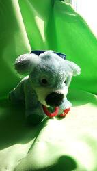 Trixie Трикси Мягкая игрушка для собак Собачка с веревочным хвостом