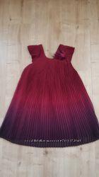 Платье расцветки омбре Monsoon на 6-7лет.