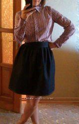 юбка из плотного джинса на талию 68-70см