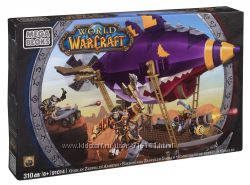 Конструктор World of Warcraft Гоблинский дирижабль Зеппелин, MEGA BLOKS