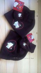 Шапкарукавички Hello Kitty от Sanrio, one size