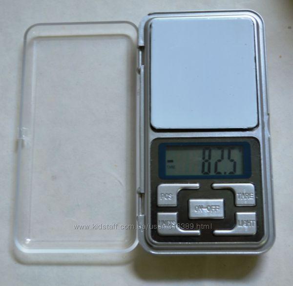 Весы карманные, ювелирные, аптечные от 0, 1х500г  0, 01х500