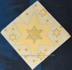 Салфетка для декупажа Бежевые звезды, маленькая