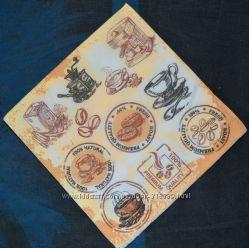 Салфетка для декупажа Кофейная эмблема