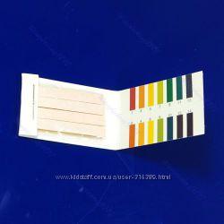 Лакмусовая бумага, лакмус, тест, полоски тест ph1-14  купить от 1 полосочки