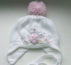 Красивая шапочка Barbaras для новорожденной