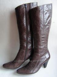 Кожаные сапоги Lamica, размер 39  26 см.
