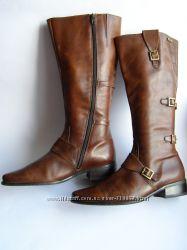 Кожаные сапоги Caprice, размер 39. 5 26 см.