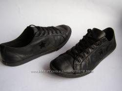 Модные кожаные кеды Converse, р. 39  24. 5см.