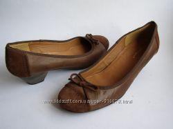 Кожаные туфли Roberto Santi, р. 41 26. 5см.