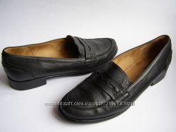 Кожаные туфли-лоферы Gabor, р. 40 26, 5 см.