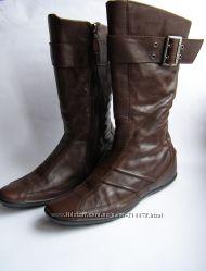 Кожаные сапоги Tommy Hilfiger, р. 39  26см