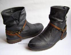 Кожаные сапоги SPM Boots, р. 38  24. 5 см