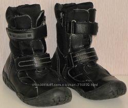 Зимние ботинки b&g на мальчика 35р. бу