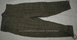 Теплые ватные штаны
