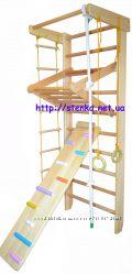 Акция Спортивная стенка, рукоход, . Высота 225 см. Доставка бесплатная.