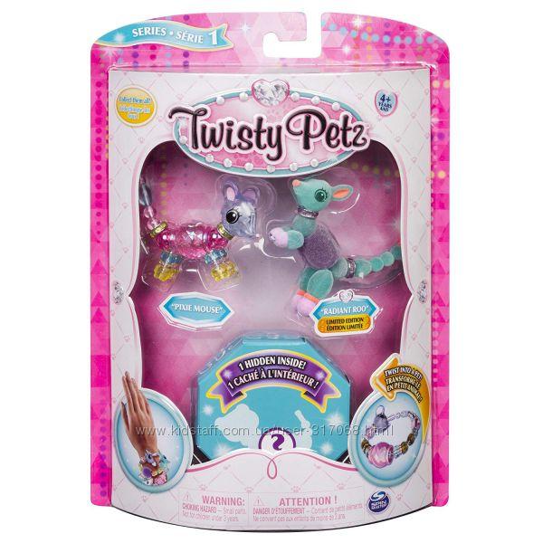Наборы Твисти петс Twisty Petz из 3-х браслетов. Оригинал Spin Master