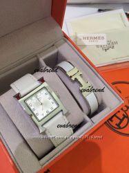 Часы с браслетом Hermes