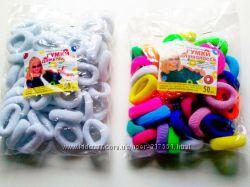 Резинки для волос 50 шт. упаковка