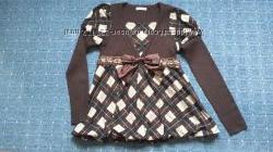 Элегантный свитер шерстьхлопок для беременной, бу