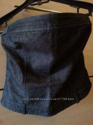 корсет джинсовый