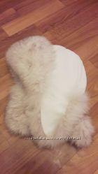 шапка с песцовым мехом