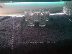 Рюмочки 5 шт. стаканы 6 шт