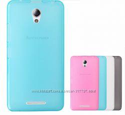 Полупрозрачный TPU силиконовый чехол для Lenovo A5000 IdeaPhone