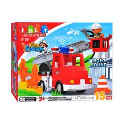 Конструктор Jdlt  Пожарная машина модель 5150