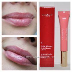 Блеск для губ Clarins Eclat Minute Instant Light Natural Lip Perfector 01
