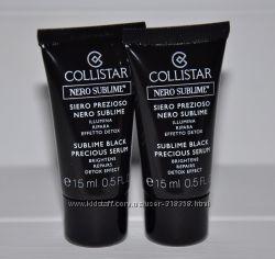 Сыворотка элексир для лица Collistar Sublime Black 15мл миниатюры