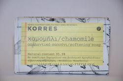Korres смягчающее мыло для лица и тела с ромашкой