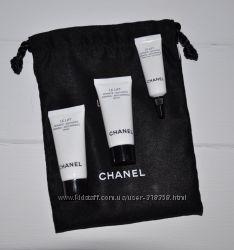 Набор Chanel Le Lift в мешочке крем для лица под глаза и сыворотка мини