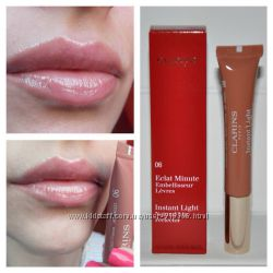 Блеск для губ Clarins Eclat Minute Instant Light Natural Lip Perfector 06