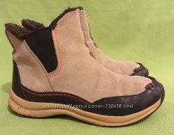 Сапоги, ботинки зимние Lands&acuteEnd, Англия, р. 39-40 стелька 26, 5см. Натур. Кож