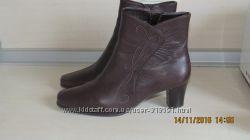 Кожаные ботинки 3839 размера