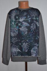Свитер свитшот Rebel и свитер Новогодний 10 - 11 лет,  146 см.