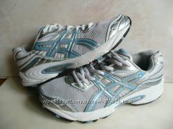оригинальные кроссовки для девушки Asics Gel длина по стельке 24, 5 см