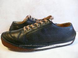оригинальные спортивные туфли мокасины Clarks Original кожа по стельке 25, 8