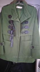 Стильное пальто в стиле Burberry
