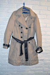 Стеганное пальто black Rivet