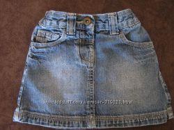 джинсовая мини юбка на девочку
