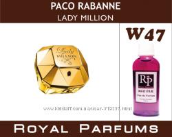 Paco Rabanne Парфюмерия на разлив Royal Parfums Ароматы женские мужские