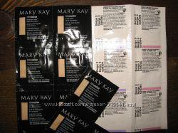 Разные пробники от Mary Kay