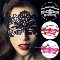 Венецианские ажурные маски для фото сессии, на вечеринку, маска go-go в нал
