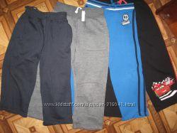 Теплые штанишки на мальчишку 4-5лет