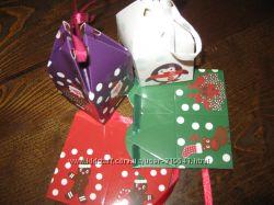бомбоньерки на Новый год маленькие коробочки