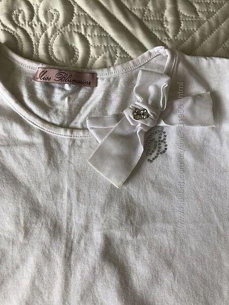 Нарядная футболка можно в школу Blumarine