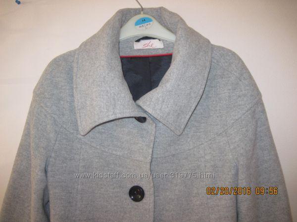 Стильное кашемировое пальто She Германия М-L размер